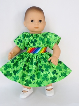 Bitty Baby Dress sewing pattern by oh sew kat