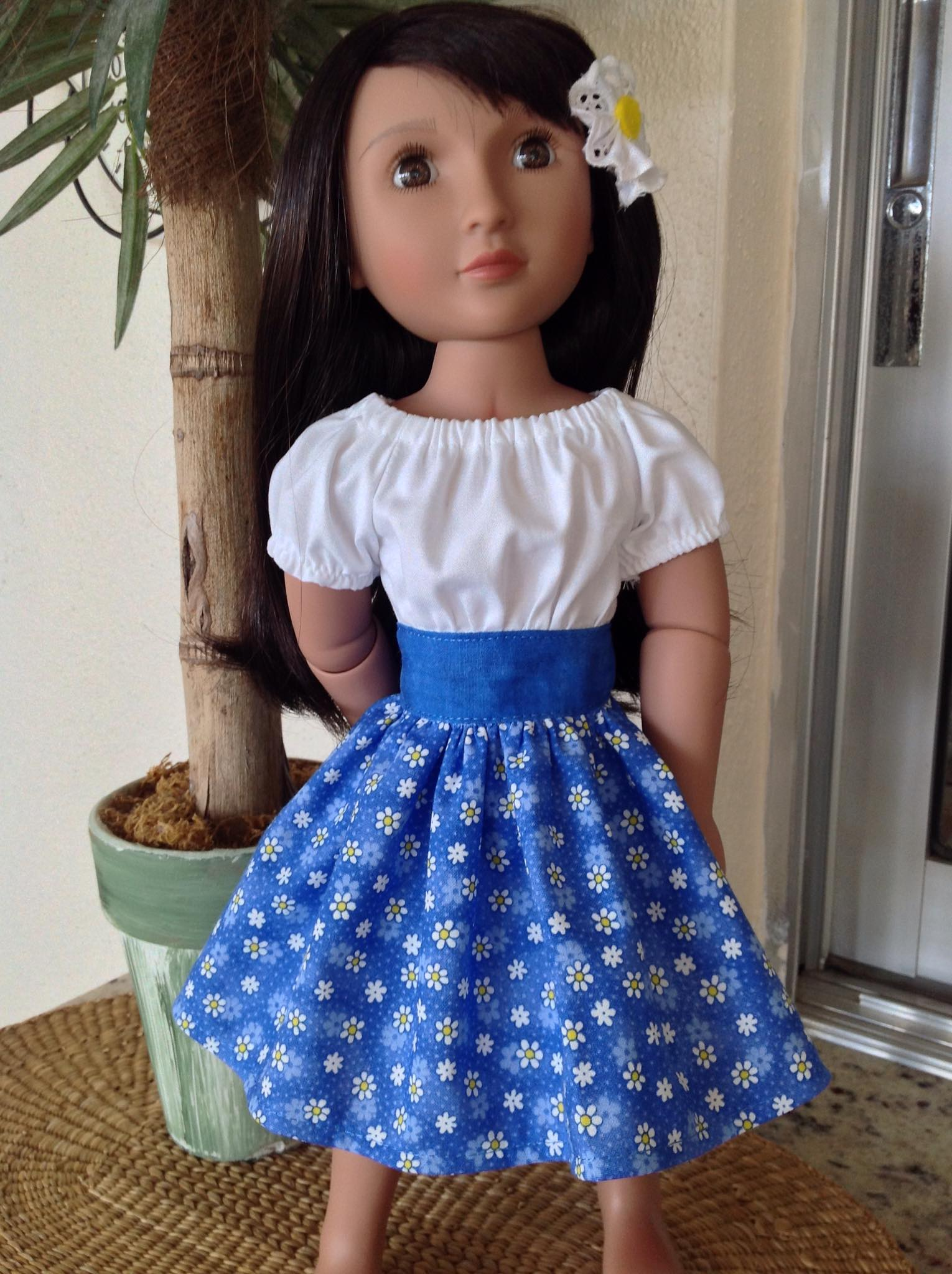 A Girl for all Time doll sewing dress pattern