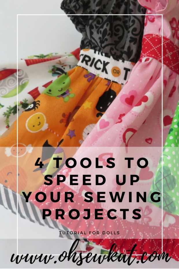 graphic 4 tools to save time sewing doll clothes