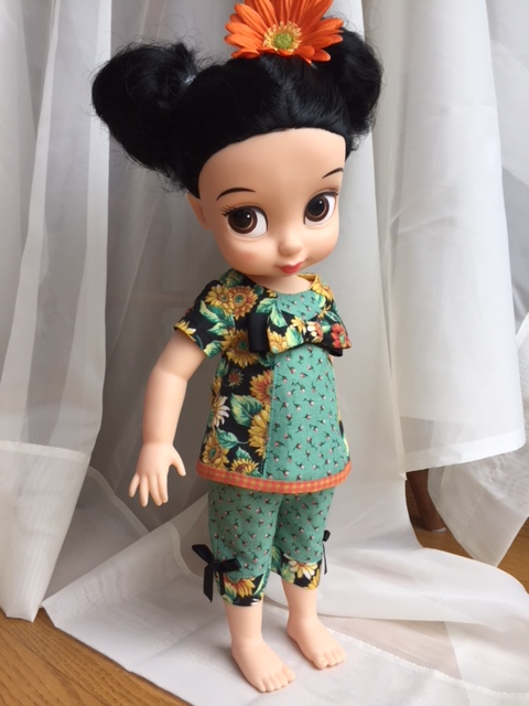 Disney Animators dolls sewing patterns