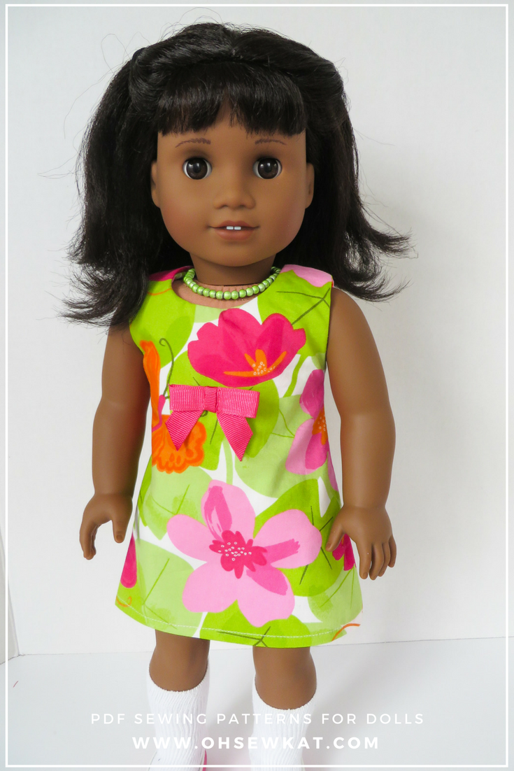 Melody American Girl Doll in Green Sunshine Dress