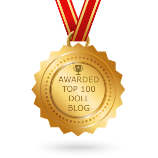Awarded Top 100 Doll Blog Medal