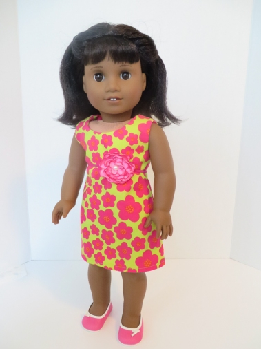 Melody American Girl doll in flowered Sunshine Dress