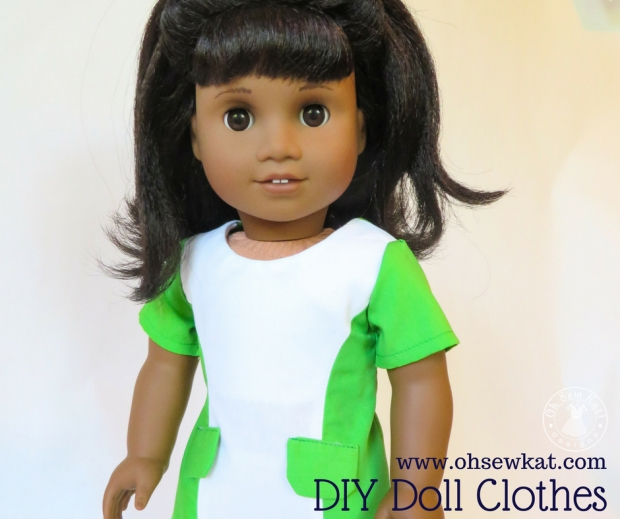 Melody doll in diy doll dress 1960
