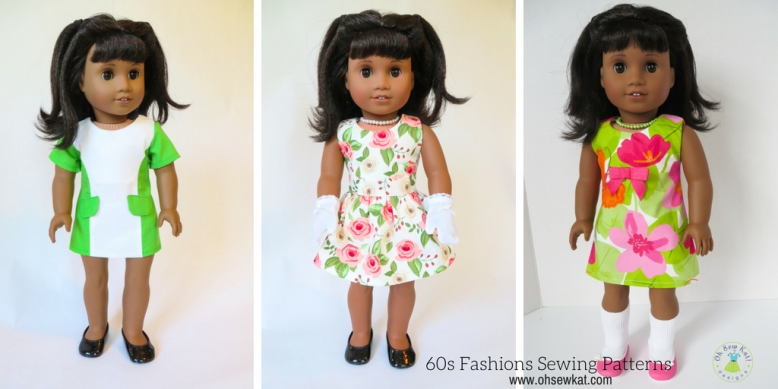 Sewing patterns for 60s Fashions Melody Doll by ohsewkat