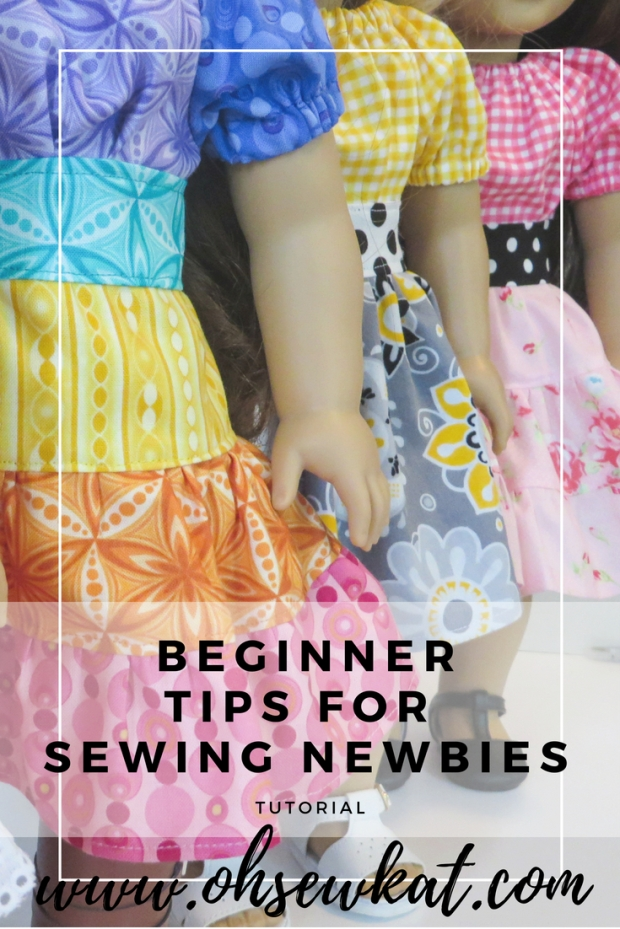 sewing doll clothes beginner tips