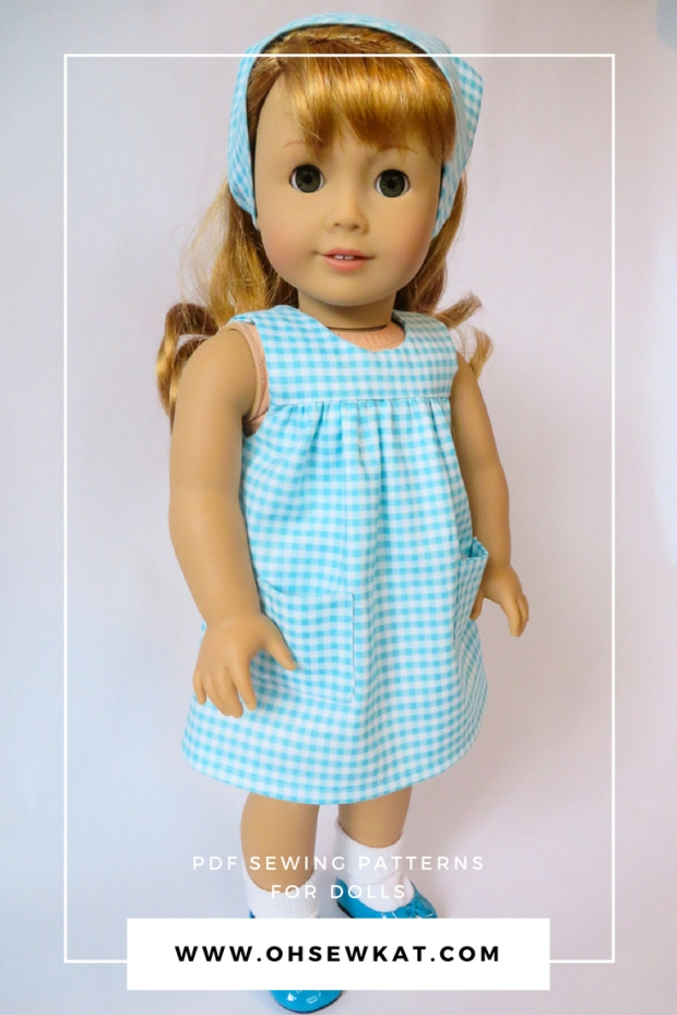 Maryellen Larkin 50s gingham Bloomer Buddies Dress