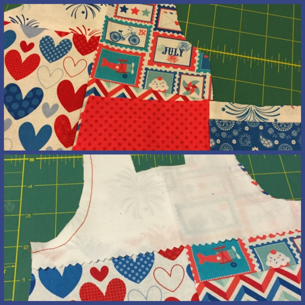 How to make a patchwork doll top