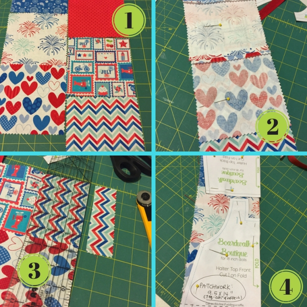 Patchwork Top tutorial for dolls by ohsewkat