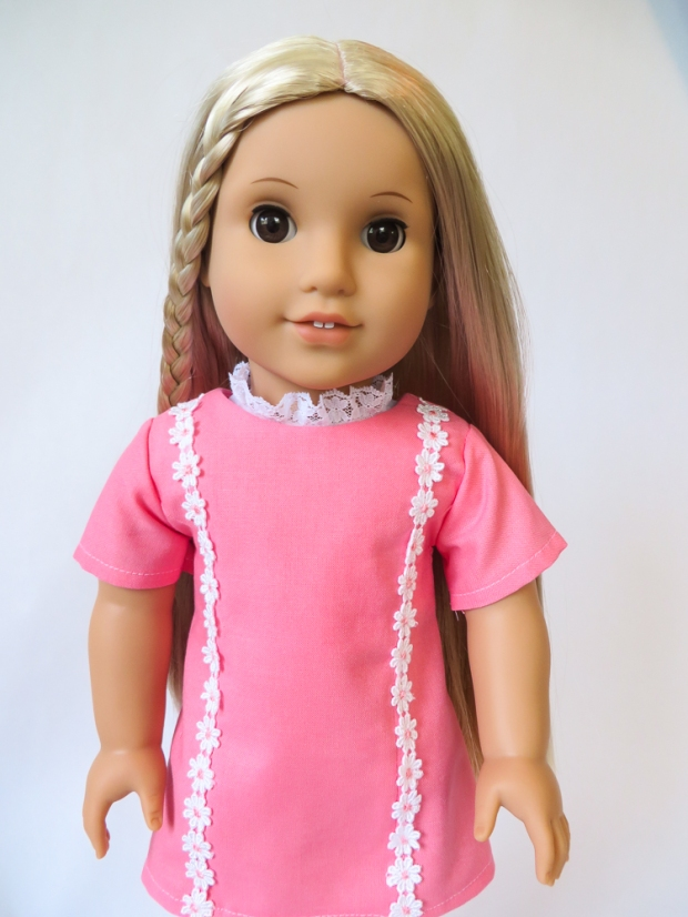 70s daisy dress for Julie Albright American Girl Doll