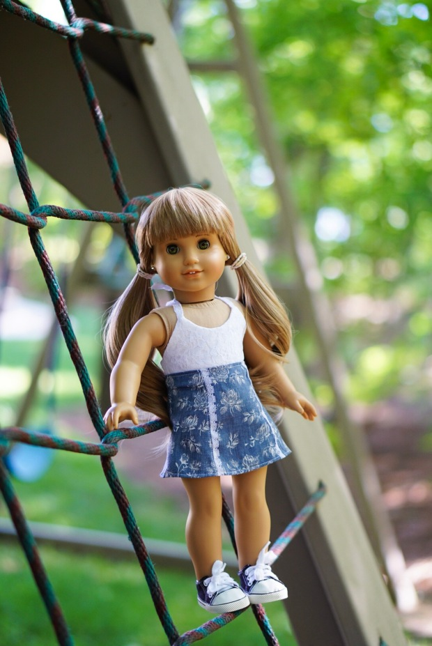 Sixth Grade Skirt Doll Sewing Pattern