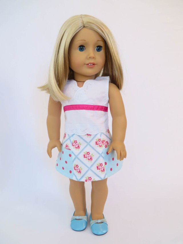 Sixth Grade Skirt sewing pattern for dolls