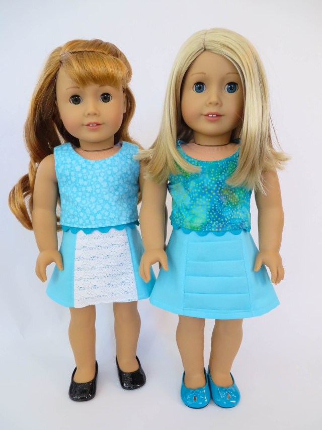 American Girl Doll Skirt sewing pattern