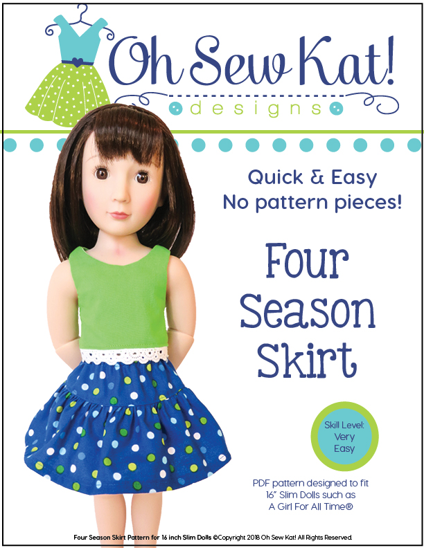 Free sewing pattern A Girl for All Time Dolls