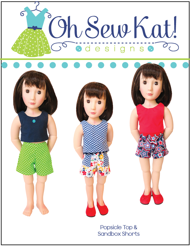 Doll clothes sewing patterns a girl for all time