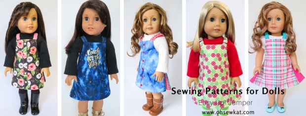 Easy Up Jumper doll clothes sewing pattern