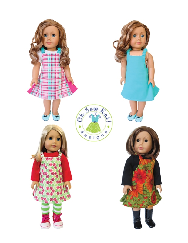 Easy Up Jumper Sewing Pattern for Dolls2