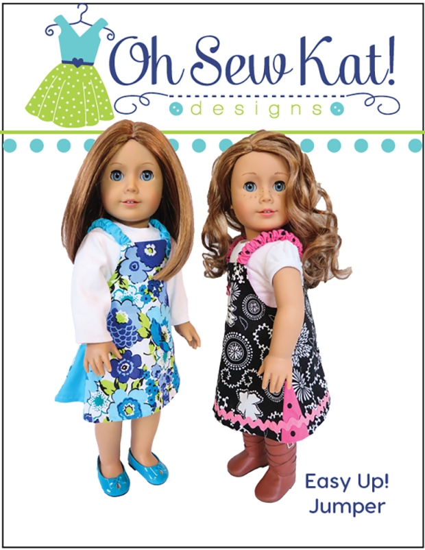 Easy Up Jumper Sewing Pattern for Dolls6