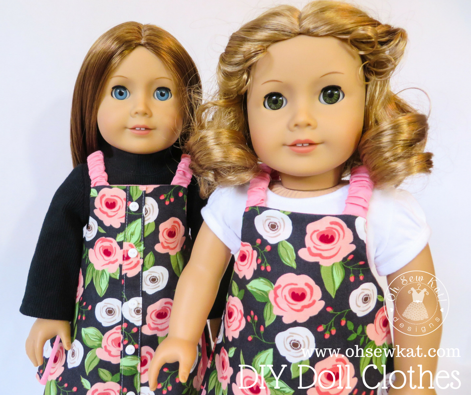 Beginner sewing pattern for 18 inch doll clothes
