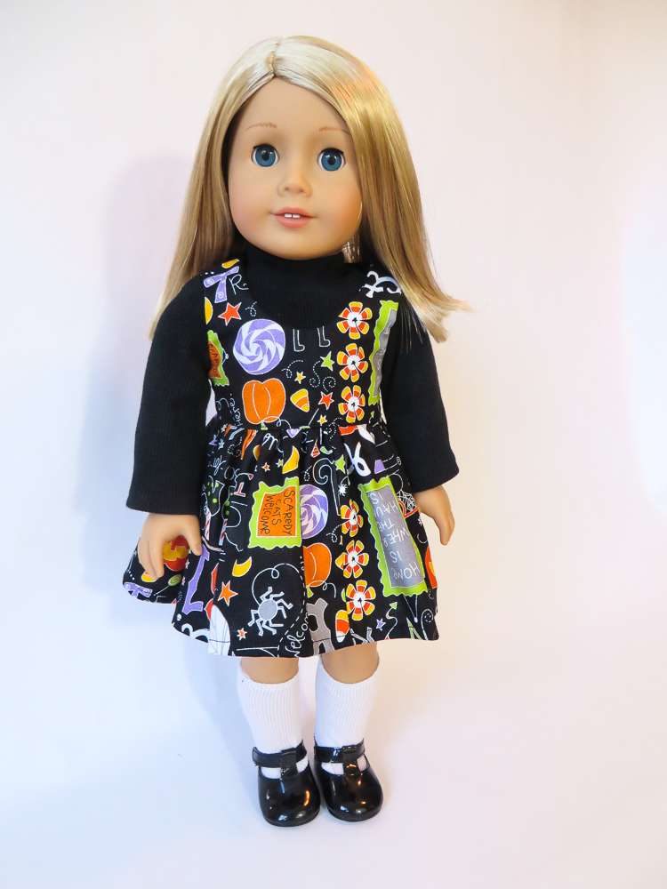 Halloween pinafore Sugar n Spice Dress-36