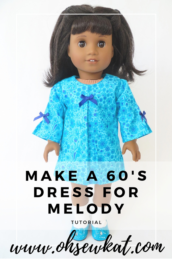 895d967b928 Sew a 60s style dress for American Girl Doll