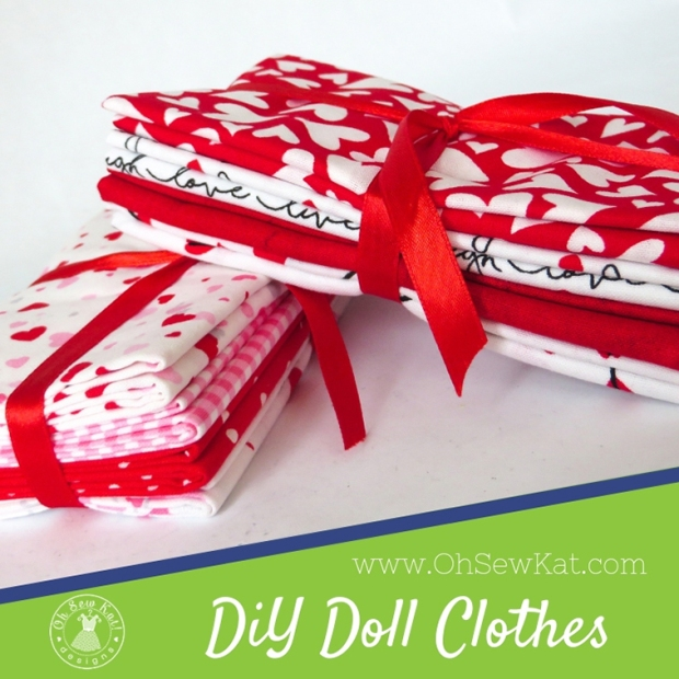 Save money when you make your own 18 inch doll clothes with budget friendly fabric from Walmart and Oh Sew Kat! digital PDF patterns for beginners. Download, print, sew with these easy tutorials to DIY beautiful doll clothes for popular dolls like American Girl and Wellie Wishers.