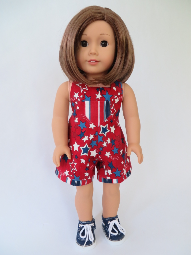 HalterAlls Sewing Pattern for 18 inch dolls like American Girl. Easy to sew PDF digital doll clothes patterns found at Oh Sew Kat!