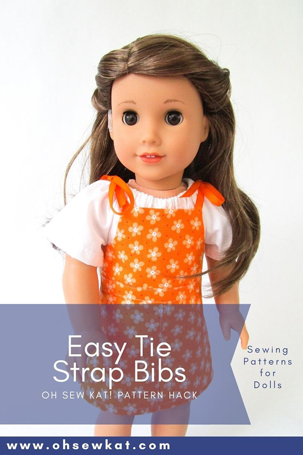 Make your 18 inch doll a new wardrobe with easy PDF sewing patterns from the OhSewKat etsy shop. Download and print your patterns and sew today!